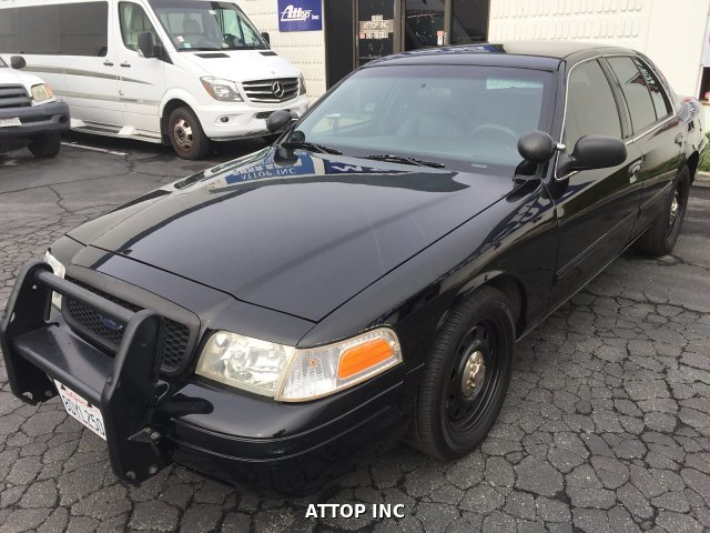 2011 Ford Crown Victoria Police Interceptor 4-Speed Automati