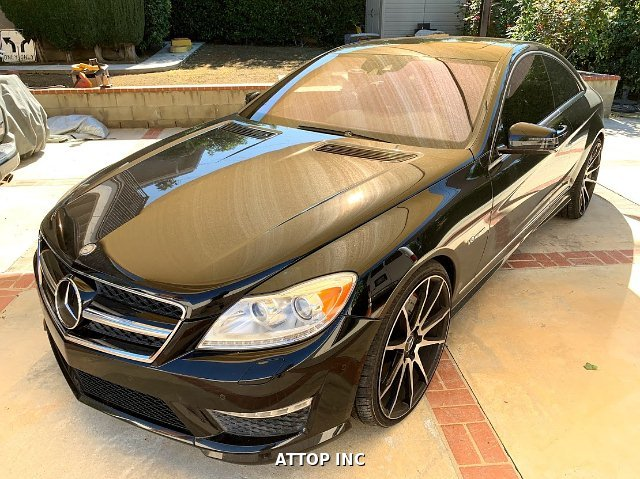 2013 Mercedes Benz CL-Class CL63 AMG 7-Speed Automatic